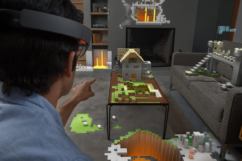 microsoft hololens using